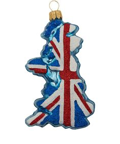 Union Jack Map Tree Decoration | Festive Decorations from the Liberty Christmas Shop | Liberty.co.uk
