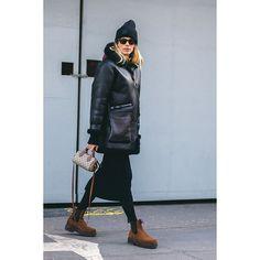 Street Style by Veronika Heilbrunner London Fashion Week Fall / Winter 2018   ©Antoine Ape