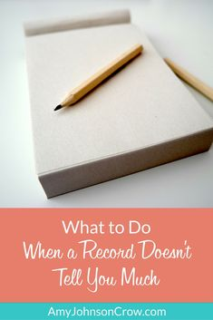 How to put even the skimpy records to use in your #genealogy. #familyhistory #ancestry #research via Amy Johnson Crow