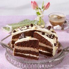 Latte-Macchiato-Torte Latte Macchiato, Tiramisu, Ethnic Recipes, Food, Pies, Essen, Meals, Tiramisu Cake, Yemek