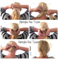 Low Braided Bun Tutorial