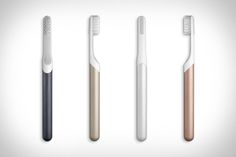 Many of us forget to brush twice a day, most of us don't brush for the full two minutes and we all let our toothbrushes get frayed and ineffective. The Quip Metal Electric Toothbrush and brush head subscription is out...
