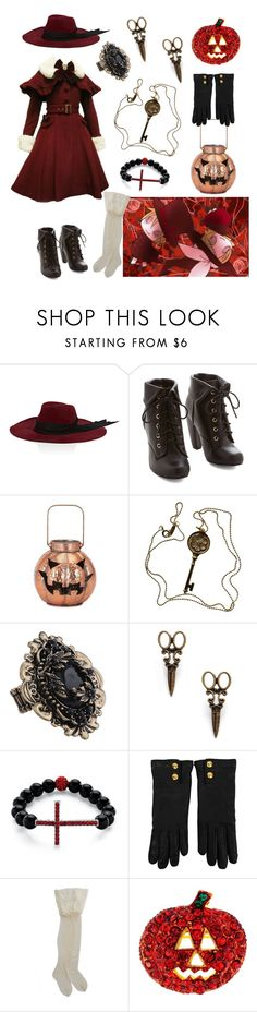 """""""Trick and Treat by Vocaloid Len and Rin"""" by vicipokemon ❤ liked on Polyvore featuring Littledoe, IMAX Corporation, Tiffany & Co., Forever 21, Palm Beach Jewelry, Gucci and HYD"""