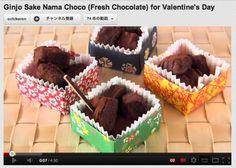 Homemade Chocolate Truffles And A DIY : Origami Gift Box