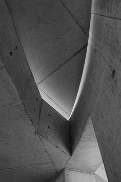 Edificio realizado por Tadao Ando en la fábrica Vitra, Weil am Rhein, Alemania