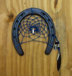 horseshoe dream catcher