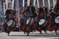 花巻祭り 鹿踊り