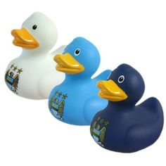 Manchester City F.C. - Mini Bath Duck Set