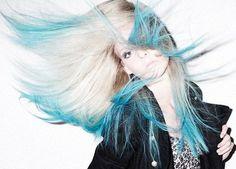 pelo azul | Mujeres con Pelo Azul | Maisonier
