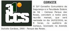 Jornalista Denise Machado: Reunião 31º CCS dia 14/03/2016