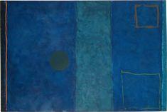 Buy Patrick Heron's Blue Painting from just Tate Custom Prints - quality art prints on demand. Framed Canvas Prints, Canvas Frame, Art Prints, Tate St Ives, Patrick Heron, Blue Painting, Living Room Pictures, Yorkie, Illustration Art