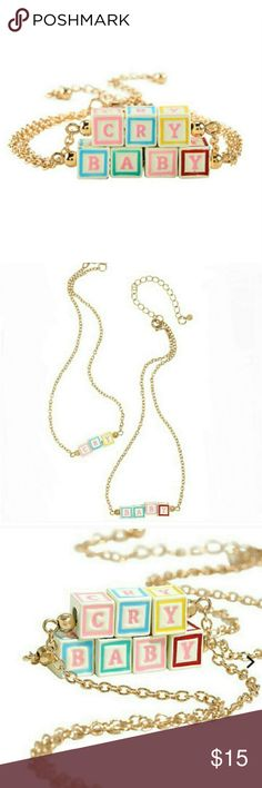 """CryBaby Choker Cry Baby Choker 