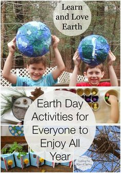 Earth Day Activities for kids, Spring Activities, Printables, Baby sensory play… Earth Day Activities, Spring Activities, Science Activities, Activities For Kids, Preschool Songs, Earth Day Projects, Earth Day Crafts, Baby Sensory Play, Sensory Art