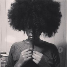 Felicia // 4C Natural Hair Style Icon   Black Girl with Long Hair