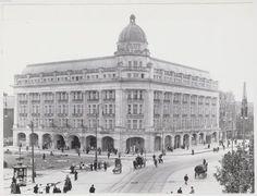 Hirsch building, atelier Merkelbach, stadsarchief