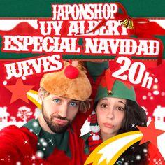 Uy Albert!, Laura y JaponShop vuelven por Navidad!!  Hoy a las 20 h! http://www.japonshop.com/