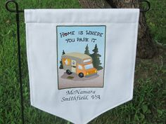 RV & Camping Flags - Personalized Just For You