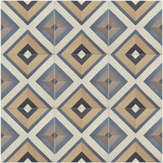Merola Tile Caprice Colors Square 7-7/8 in. x 7-7/8 in. Porcelain Floor and Wall Tile (11.46 sq. ft. / case)-FEQ8CCSQ - The Home Depot