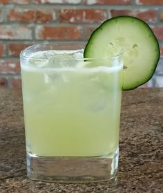 THE IRISH MAID.  Chill a rocks glass with ice. Set aside. In a shaker, muddle 2 cucumber slices. Add: Whisky (2 oz), St. Germain (1/2 oz), Lemon Juice (3/4 oz), Simple Syrup (3/4 oz). Shake with ice, double strain into rocks glass, add cucumber slice for garnish.  A really fun summer drink. I used scotch so I guess that makes it a Scottish Maid, but the original called for Black Barrel Jameson.