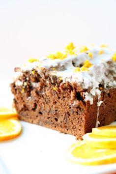 Chocolate Orange Sour Cream Pound Cake by judith