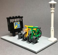 "132 Likes, 3 Comments - LionBricks (@lionbricks_lego_scootering) on Instagram: ""New cool little moc I made for my city. YouTube video is out so feel free to check it out!…"""