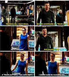 Oliver & Felicity #Arrow #TheOffer