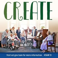 Older Americans Month 2019 Social Media | ACL Administration for Community Living Acl, Bookmarks, Community, Social Media, American, Social Networks, Social Media Tips, Book Markers