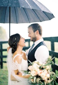 Planning tips for rain on your wedding day! | Brides.com