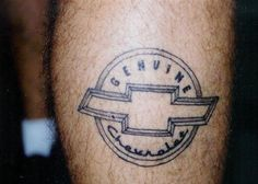 Cool Chevy Tattoos for Men (6)