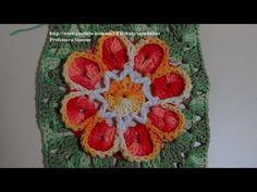 ▶ Passo a passo Flor Luana em Crochê - YouTube