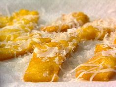 Get Fried Polenta Recipe from Cooking Channel
