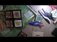 Vintage Art Journal Page - YouTube