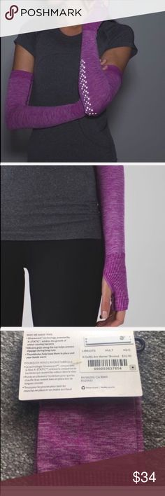 Lululemon Swiftly Arm Warmer Reflective NWT XS/S Lululemon Swiftly Arm Warmer Reflective NWT XS/S HULT. lululemon athletica Accessories