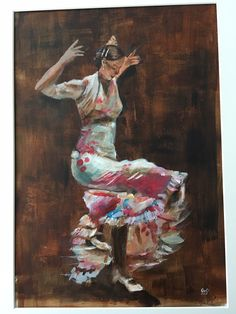 Acryl on paper Art Work, My Arts, Paper, Painting, Flamenco, Work Of Art, Painting Art, Art Pieces, Paintings