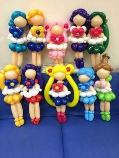 Sailors balloons made.