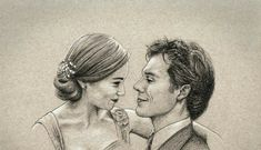 Emilia Clarke, Pencil Art Drawings, Art Drawings Sketches, Sam Claflin, Mother Of Dragons, The Fault In Our Stars, Pencil Portrait, New Shows, Fanart