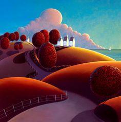 'Sailing' by Paul Corfield