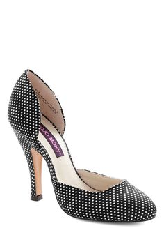Fresh Finesse Heel in Black #modcloth #ad *lovely