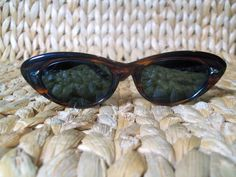 Reserved for Esther  Cat eye sunglasses by BAUSCH AND LOMB. $25.00, via Etsy.