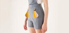 Lazzari pear shorts