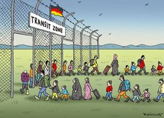 Marian Kamensky  (2015-10-13)   Transit Zone in Germany