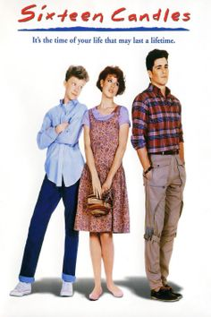 Sixteen Candles is a 1984 American coming-of-age comedy film starring Molly Ringwald, Michael Schoeffling and Anthony Michael Hall. It was written and directed by John Hughes. It is one of THE movie that defines the Movies Of The 80's, Great Movies, Movies And Tv Shows, Awesome Movies, Awesome Things, Anthony Michael Hall, Ryan Michael, Michael Schoeffling, Yasmine Galenorn