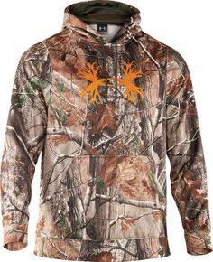 Under Armour® Camo Antler Hoodie II, Men's Layering Sweaters & Pullovers, Men's Layering Clothing, Men's Hunting Clothing, Clothing : Cabela's