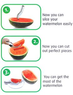 UCEC Watermelon Knife Slicer, As Seen on TV Stainless Steel Cutter with Non-slip Handle Cover for Fruit Sharper & Sturdy & Safe Watermelon Cutter, Watermelon Slicer, Watermelon Fruit, Steel Cutter, See On Tv, Cantaloupe, Stainless Steel, Canning, Knives