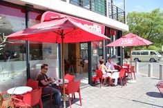 Enjoy the fresh Air e caffé Coffee Shop, Coffee Cups, Coffee Date, Coffee Culture, Cold Day, The Fresh, Patio, Meals, Places