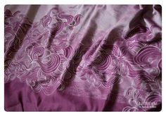 Natibaby Fumus Plum Woven Wrap 70% cotton 30% silk Size 6 (22) Currently have.