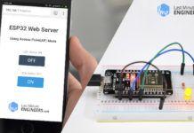 Create A Simple ESP32 Web Server In Arduino IDE | sim800 in 2019