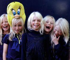 Swedish Blonde Hair! Oh how pretty!