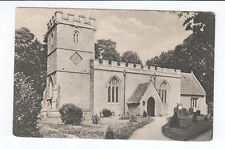 Postcard. Southleigh Church. South Leigh Nr Witney Oxfordshire.