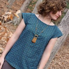 Akita blouse by craft_rambler